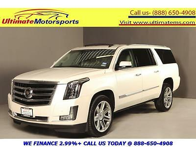 2015 Cadillac Other 2015 PREMIUM NAV DVD HUD SUNROOF LEATHER WARRANTY 2015 CADILLAC ESCALADE ESV PREMIUM 4x4 NAV HUD DVD SUNROOF LEATHER WARRANTY