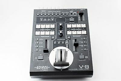 Roland/Edirol V-8 8 Channel Video Mixer/Switcher [Excellent++] Free shipping