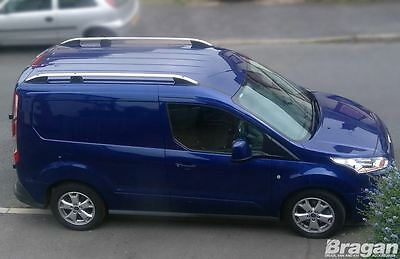 To Fit 14+ Ford Transit Tourneo Connect SWB Aluminium Alloy Roof Rails Rack Bars