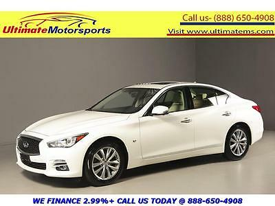 2014 Infiniti Q50 2014 PREMIUM AWD NAVIGATION SUNROOF LEATHER 2014 INFINITI Q50 PREMIUM AWD NAV SUNROOF LEATHER HEATSEAT