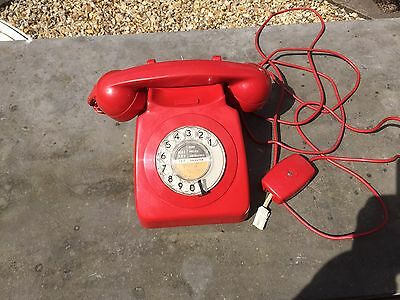 Old BT Rotary Dial Red Phone