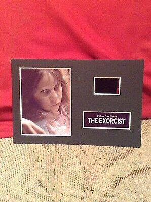 The exorcist 6x4 film cell display