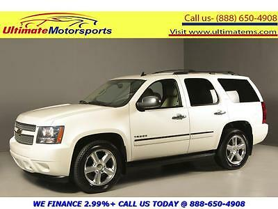 2011 Chevrolet Tahoe 2011 LTZ NAV LEATHER BLIND HEAT/COOL 7PASS 2011 CHEVROLET TAHOE LTZ NAV LEATHER BLIND HEAT/COOL SEATS RCAM WHITE