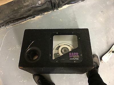 Alpine Bass 200 Sub Woofer Good Condition Spares & Repairs