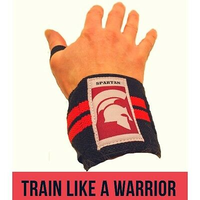 Spartan Pro Wrist Wraps, Wrist Brace And Hand Support Strap For Weight Training