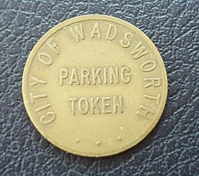 Wadsworth, Ohio Parking Token - Courtesy of Chamber of Commerce