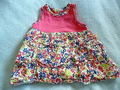 ** Beautiful Baby Girl Floral Dress - George (0 - 3 months) **