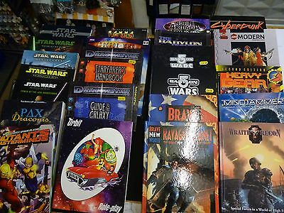 Star Wars & other Science Fiction Role Playing Games + Grenadier Miniatures