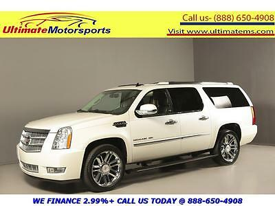 2014 Cadillac Other 2014 PLATINUM AWD NAV DVD SUNROOF LEATHER BLIND 2014 CADILLAC ESCALADE ESV PLATINUM AWD NAV DVD SUNROOF LEATHER BLIND WHITE