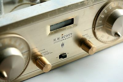 Vintage H.H. SCOTT Type 330-C Stereo AM-FM Stereomaster Tuner