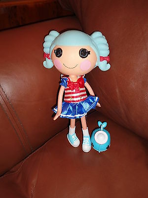 Lalaloopsy Marina Anchors And Pet Whale Full Size Doll