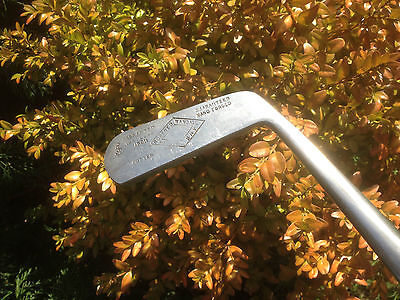 """V. RARE OVAL SHAPED HICKORY SHAFTED STEEL-HEADED """"RANDALL """" PUTTER c.1920s."""