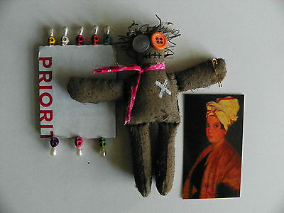 'Real' VOODOO Doll + (8) Real Voodoo Pins. NOT a toy!!!!