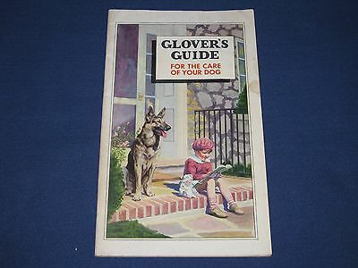 Vintage 1934 Glover's Guide for the Care of Your Dog