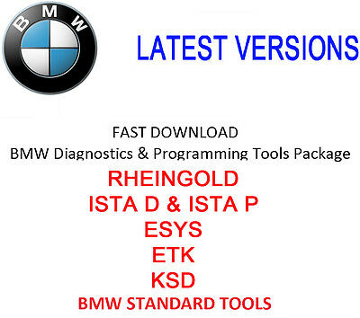 BMW Software Package - ISTA D+P / ESYS / ETK / KSD / BST