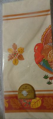 Reed's Rembrandt Line Thanksgiving  Paper Tablecloth 54 inches By 104  Inches