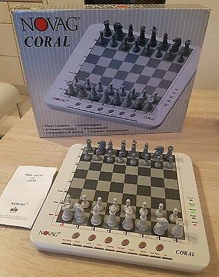 Novag Coral Electronic Chess