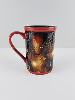 Large Iron Man 3 Mug From Disney store Marvel 13.5cm