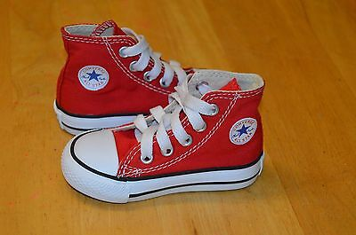 Baby Boys Girls Converse All Star Trainers Shoes Kids Size UK 4 Eur 20