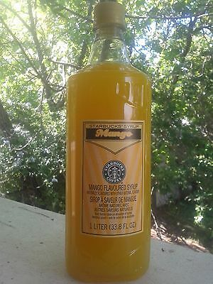 Starbucks Mango Syrup 1 liter DISCONTINUED