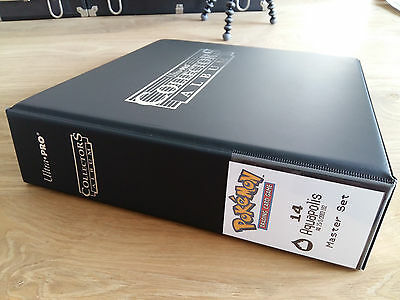 Pokemon COMPLETE Aquapolis MASTER set NM+