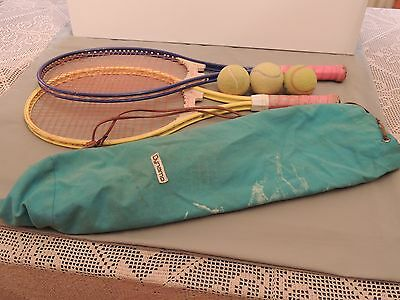 RACKETS tennis DONNAY with case.