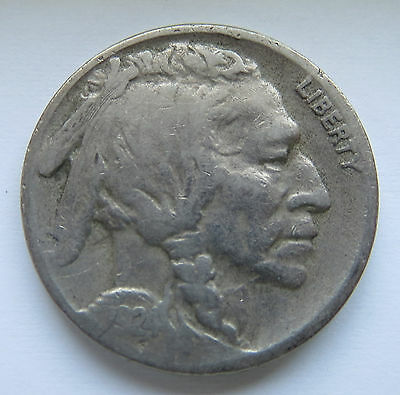 1924-S 5C Buffalo Nickel