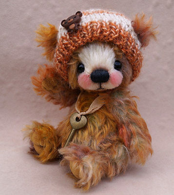 "A.S.Bears  "" Rory ""  OOAK 6.6 inches Small Artist Bear"