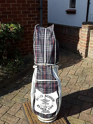 Burberrys Golf Bag Accredited To Sir Nick Faldo 1985 Ryder Cup