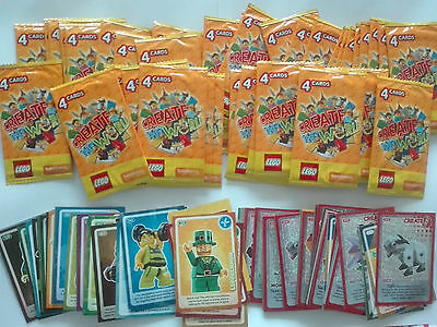 Sainsburys Lego Create The World - 100+ Cards & 44 Packs of 4 - Nearly 300 cards