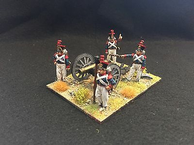 28mm Perry Miniatures Painted Carlist War Isabelino Artillery