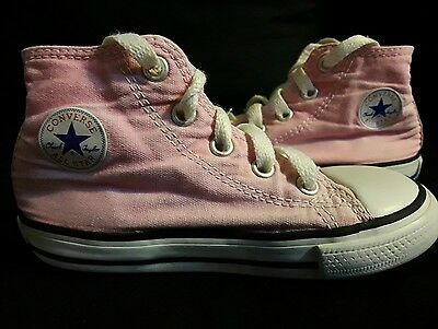 Converse Haute Rose   Taille 24 Be