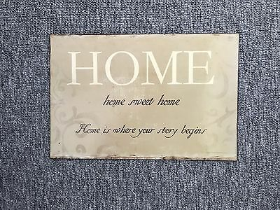 New Vintage/Shabby Chic/Rustic Home Decor Metal Sign