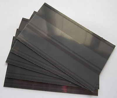 100 x 2 strip New Prinz Stamp Stockcards Stock Cards with Counterfoil