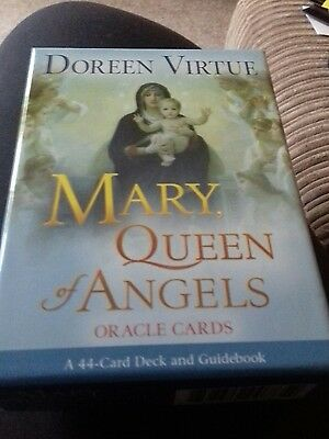 oracle cards Mary Queen OfAngels Doreen Virtue