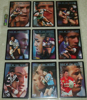 1995 NRL Cards - Face of the Future