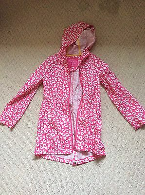 Girls Parka In A Pocket Age 8-9