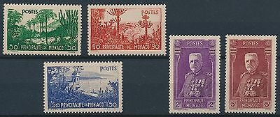 [BIN564] Monaco 1937 Good set of stamps very fine MNH Value 350$
