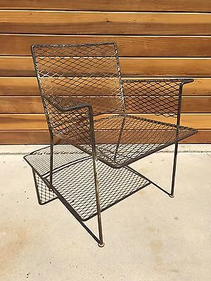 VKG VAN KEPPEL GREEN PATIO CHAIR MID CENTURY MODERN WOODARD ERA 50's VINTAGE