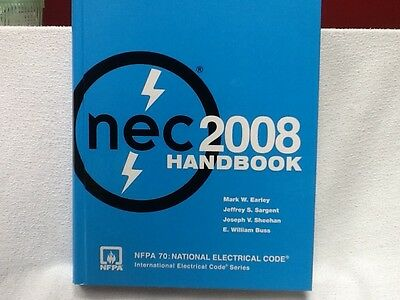 NEC 2008 National Electric Code Handbook NFPA 70 Excellent Condition