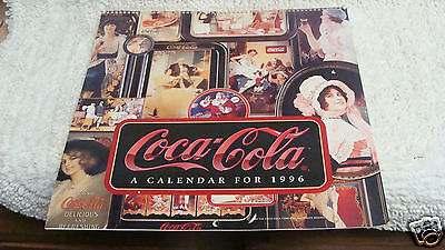 Coca-Cola Calendar 1996 Nostalgia 11 x 11 Vintage Advertising 1900'S  Coke