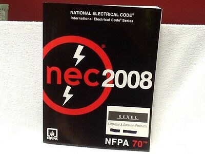 2008 NEC Code Book-NFPA 70 Excellent Condition