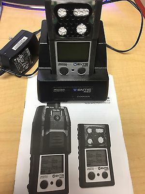 Industrial Scientific Ventis MX4 Multi Gas Detector Unit with Charging Station