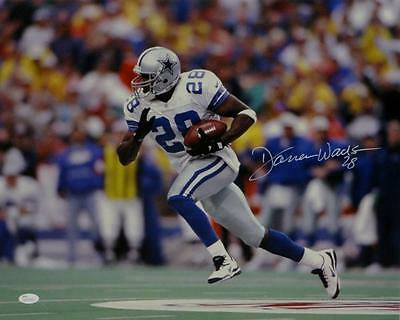 3af15edbb Darren Woodson Autographed *White Dallas Cowboys 16x20 Running Photo- JSA W  Auth