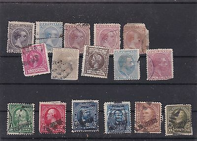 Philippines Mounted Mint & Or  Used Stamps On Stock Card  Ref R812