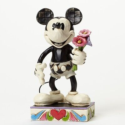 Jim Shore Mickey Mouse For My Gal summer love figurine 4043665 NIB