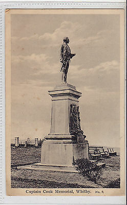 Postcard Showing, Captain Cook Memorial, Whitby - unused - (NVL17) (X)