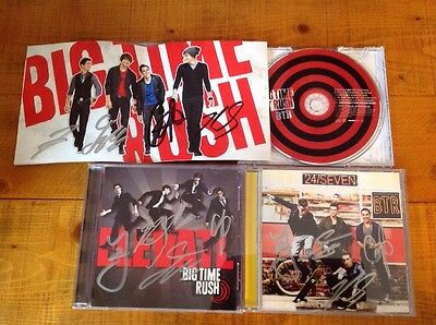 Big Time Rush Signed CDs