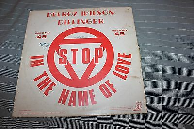 Delroy Wilson  Stop in the name of love  Dillinger