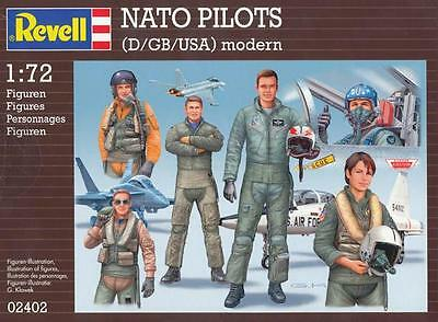 1/72 Revell NATO PILOTS (US/UK/D)
